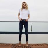 DSTLD High Rise Skinny Jeans in Dark Indigo