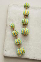 Suzanna Dai Candy Stripe Drop Earrings