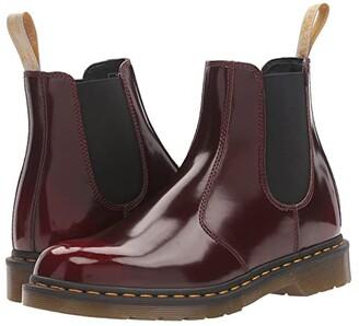 Dr. Martens 2976 Vegan Chelsea Boot (Black Felix Rub Off) Lace-up Boots