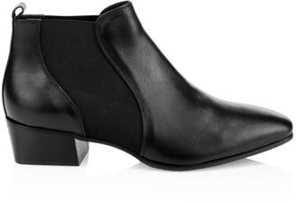 Aquatalia Falco Leather Chelsea Boots