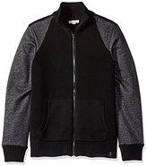 Calvin Klein Jeans Men's Ottoman Terry Full Zip Sweater