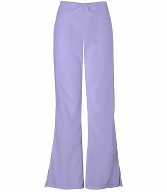 Cherokee Women's Petite Fashionable Flare Leg Drawstring Pant