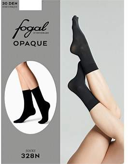 Fogal Opaque 30D Anklet - Midnight