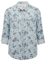 M&Co Floral print shirt