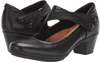 Cobb Hill Kailyn Asymmetrical Mary Jane (Black) Women's Shoes