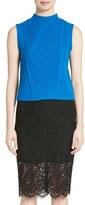 Diane von Furstenberg Women's Ediva Wool & Cashmere Mock Neck Sweater