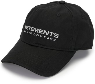 Vetements Embroidered Logo Baseball Cap