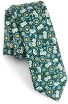 The Tie Bar Flower City Wool Skinny Tie