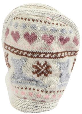Muk Luks Women's Amira Snow Day Slipper - Offwhite