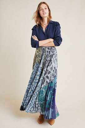 Geisha Designs Neruda Pleated Maxi Skirt