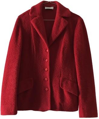 Philosophy di Alberta Ferretti Red Wool Jacket for Women