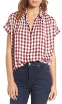 Madewell Women's Plaid Courier Shirt