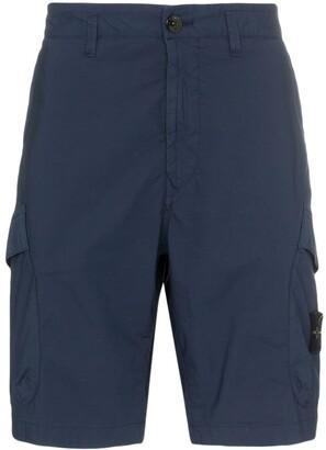 Stone Island utility pocket cargo shorts
