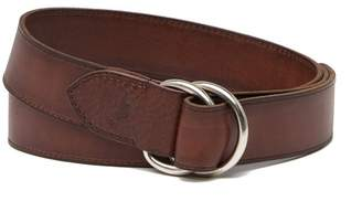 Tommy Bahama Double D-Ring Leather Belt
