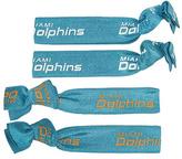 Aminco Miami Dolphins Elastic Hair Tie Set