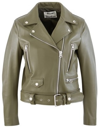 Acne Studios Mock Perfecto leather jacket