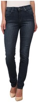 Miraclebody Jeans Skinny Sanded Jeans in Berkshire Blue