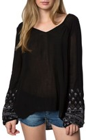 O'Neill Women's Mariana Embroidered Top