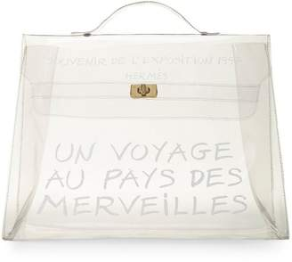 Hermes Clear Vinyl L'Exposition 1997 Kelly 40cm