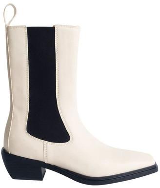 Tony Bianco Dua Dove Capretto Ankle Boots
