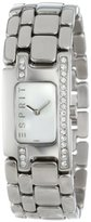 Esprit Women's ES102322007 Organic Pretty Silver Houston Classic Fashion Analog Wrist Watch