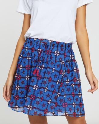 Scotch & Soda Printed Mini Skirt