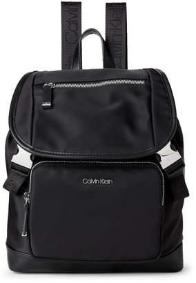 Calvin Klein Nylon Drawstring Backpack