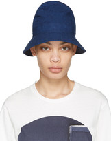 Blue Blue Japan Blue Four Panel Bucket Hat
