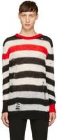 Diesel Tricolor K-Dock Crewneck Sweater