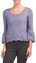 Junior Pointelle Sweater