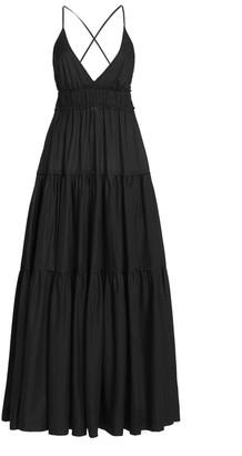 Three Graces London Chloe Crepe de Chine Maxi Dress