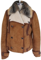 Gucci Camel Fur Jacket