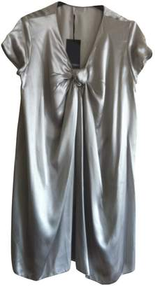 Alexis Mabille Grey Silk Dress for Women