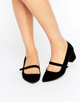 Miss KG Mary Jane Low Heeled Shoes