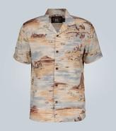 Ralph Lauren RRL Western-print short-sleeved shirt