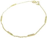 Jennifer Meyer Diamond Bar Bracelet - Yellow Gold