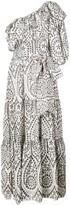 Lisa Marie Fernandez one shoulder maxi dress