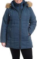 FLEETSTREET COLLECTION Fleetstreet Collection Midweight Puffer Jacket-Plus