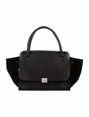Celine Large Trapeze Bag Black