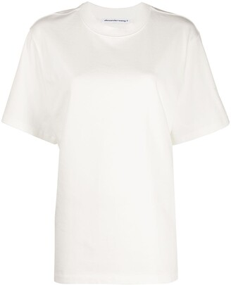 alexanderwang.t raised logo relaxed-fit T-shirt