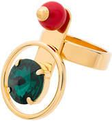 Marni orb multi stone ring