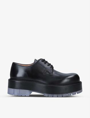Bottega Veneta Stilt leather Derby shoes