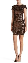 Dress the Population Women's Tabitha Sequin Body-Con Dress