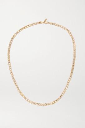 Loren Stewart Net Sustain Xxl 14-karat Gold Necklace