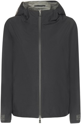 Herno Zipped Hooded Rain Jacket