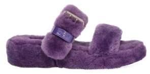 UGG Women's Fuzz Yeah Sheepskin Slides Sandals