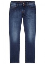 Jacob Cohën J622 Dark Blue Slim-leg Jeans