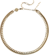 Jennifer Zeuner Jewelry Double Layer Chain Necklace