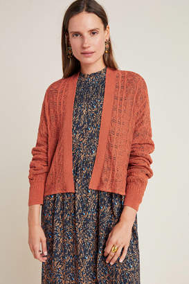 Anthropologie Shelby Pointelle Cardigan