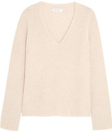 Helmut Lang Wool And Cashmere-blend Sweater - Beige